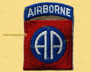 WWII AA airborne patch replica (free shipping)